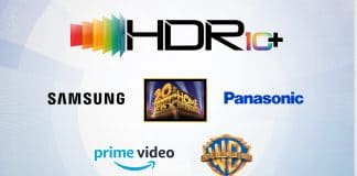 """Das offizielle HDR10+ Logo sowie alle bisherigen Partner der """"Allianz"""""""