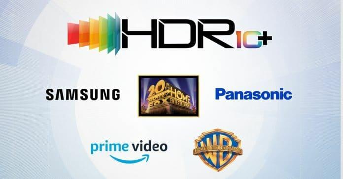 Das offizielle HDR10+ Logo sowie alle bisherigen Partner der