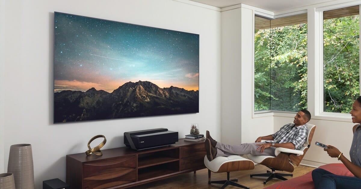 hisense neue 4k fernseher h ren auf amazon alexa ces 2018. Black Bedroom Furniture Sets. Home Design Ideas