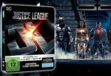 Justice League 4K Blu-ray Steelbook