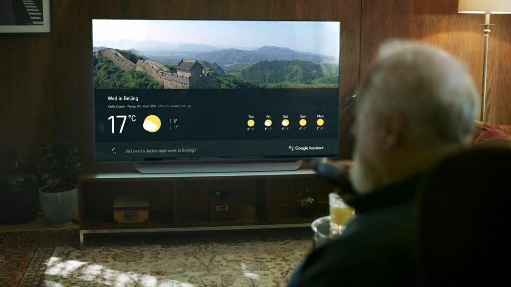 Über die ThinQ Plattform mit Google Assistant lassen sich Smart-Home-Geräte steuern und Informationen abfragen
