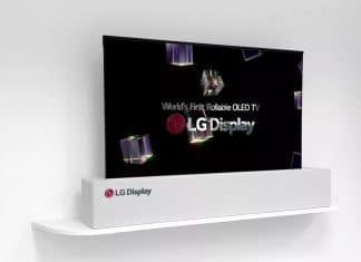 LGs aufrollbarer OLED-Fernseher ist kein Mythos. Ein erster Prototyp wird auf der CES 2018 ausgestellt