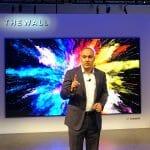 """""""The Wall"""" von Samsung ist das erste kommerziell vertriebene, großflächige microLED Display"""
