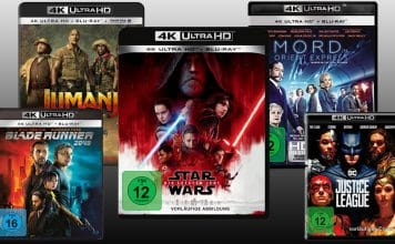 4K Blu-ray Neulistungen und Vorbesteller der nächsten Monate