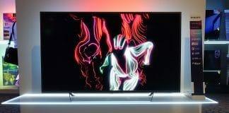 Das komplette Philips 2018 LCD 4K Fernseher Lineup das auf dem Launch Event in Amsterdam präsentiert wurde