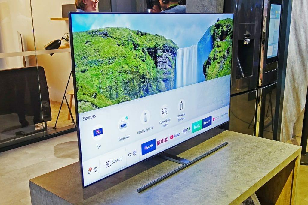 Handelt es sich bei den ausgestellten TV-Geräten auf der CES bereits um QLED TVs auf 2018?