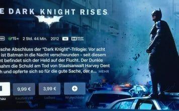 The Dark Knight Rises ist ab sofort in 4K + Dolby Vision auf iTunes verfügbar!