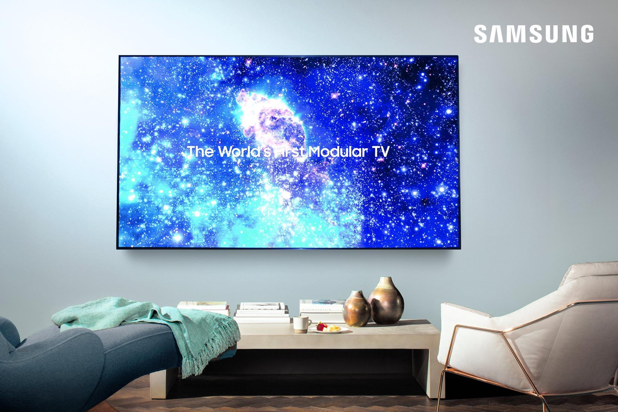 Erste abbildung des 75 zoll the wall micro led tv - Tv wandhalterung 75 zoll ...
