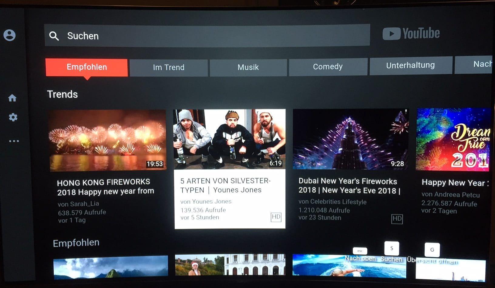 Tauschgeschäft: Youtube kehrt zurück auf Fire TV - Prime