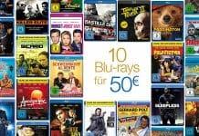 """Die """"10 Blu-rays für 40 EUR""""-Aktion läuft noch bis diesen Sonntag"""