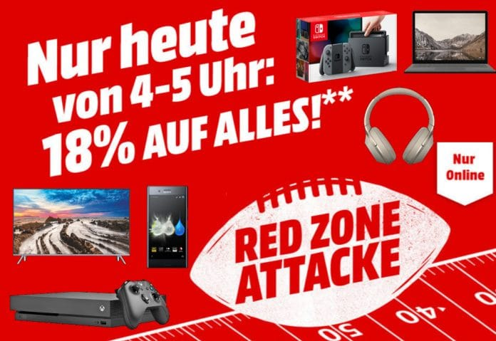 18 Prozent auf das komplette Sortiment** auf Mediamarkt.de!!!