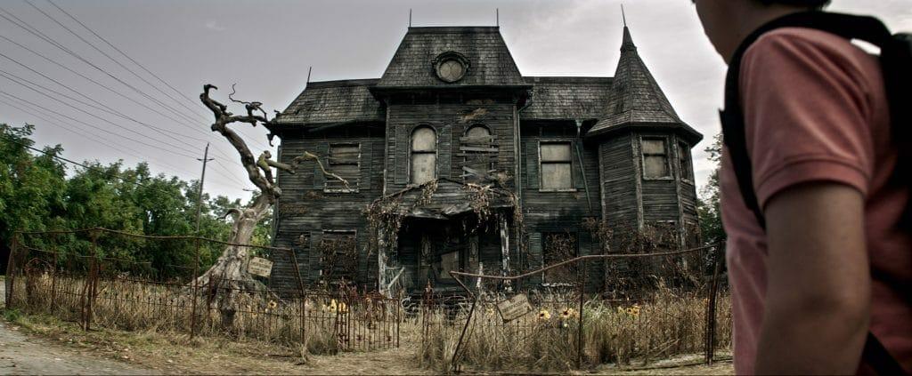 """Einladend sieht anders aus... in diesem Haus soll """"ES"""" sein Unwesen treiben"""
