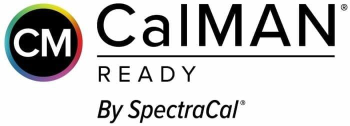 TV-Geräte mit diesem Logo unterstützen die CalMAN Kalibrierungs-Software