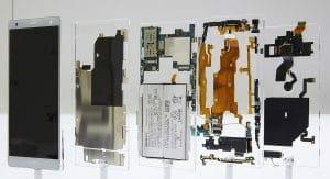 Sony Xperia XZ2 - Einzelzeile