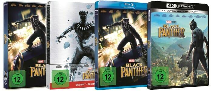 """Finales deutsches Cover-Artwork der deutschen Versionen von """"Black Panther"""""""