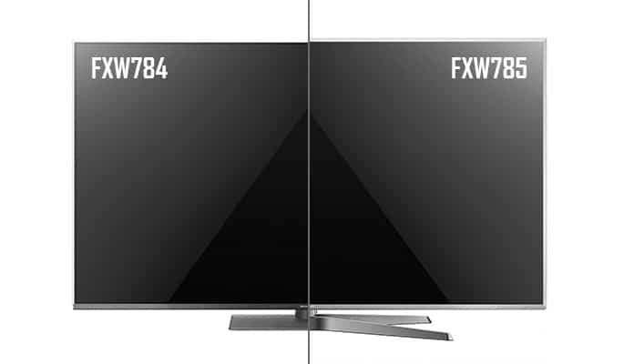 Design-Unterschied der FXW784 & FXW875 Serien