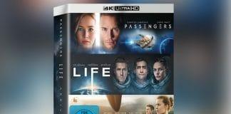 """Das exklusive Boxset enthält die 4K Blu-rays von """"Arrival"""", """"Life"""" und """"Passengers"""""""