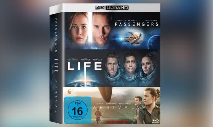 Das exklusive Boxset enthält die 4K Blu-rays von
