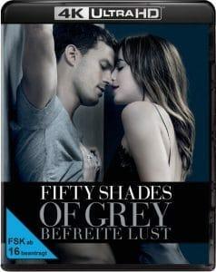 """Vorläufiges 4K Blu-ray Cover von """"Fifty Shades of Grey 3 - Befreite Lust"""""""