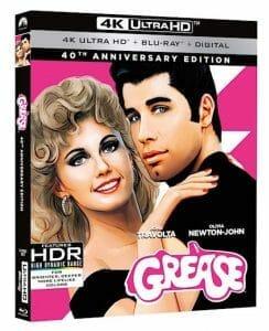 """Ein Cover für die US-Version der """"Grease"""" 4K Blu-ray ist bereits online"""