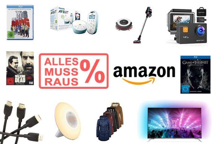 Räumungsverkauf-Angebote auf Amazon.de - Alles muss raus!