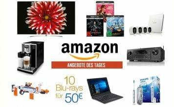"""Reduzierte 4K OLED & SUHD TVs von LG, 4K Blur-ays unter 21 Euro, """"10 Blu-rays für 50 Euro""""- Aktion uvm."""