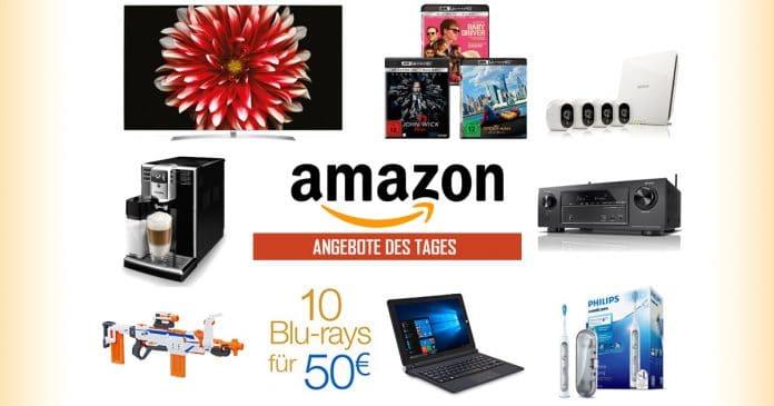 Reduzierte 4K OLED & SUHD TVs von LG, 4K Blur-ays unter 21 Euro,