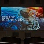 """Der Samsung """"3D Cinema LED Screen"""" und """"The Wall Professional"""" wurden erstmals auf der ISE 2018 vorgestellt"""