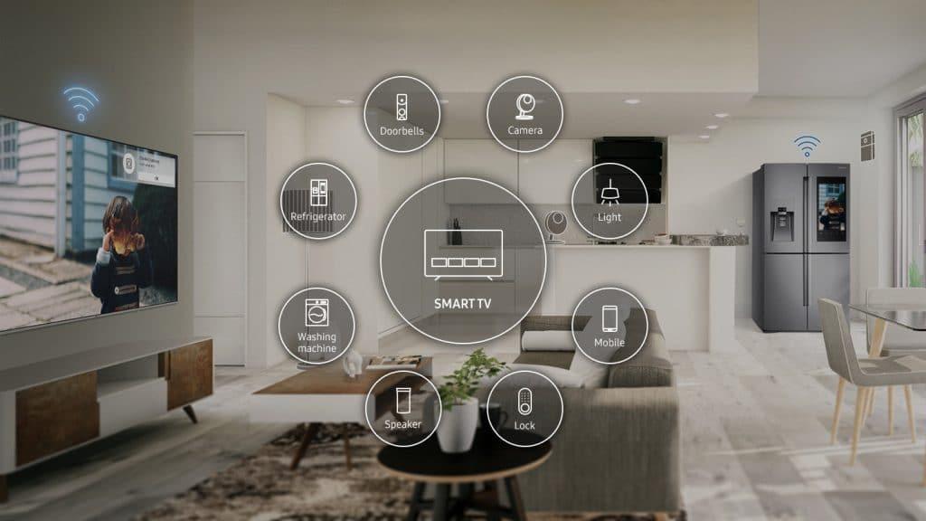 Großen Wert scheint Samsung auf die Integration der SmartThings Plattform zu legen