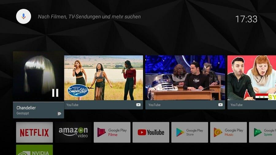 Nvidia Shield Android TV (2017) im Test - 4K Filme