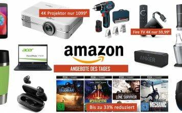 4K Blu-rays und UHD Projektoren zum Bestpreis + weitere Aktionen