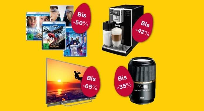 Amazon Oster Angebote am Freitag mit bis zu 65% auf 4K Fernseher von Philips und 50% auf 3D Blu-rays!