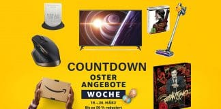 Countwodn-Oster-Angebote und Wochenend-Deals auf Amazon.de
