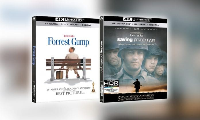 Tom Hanks im Doppelpack. Paramount veröffentlicht die Filmklassiker