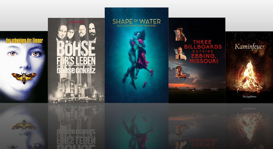 4k Neuheiten Auf Itunes Three Billboards The Shape Of Water