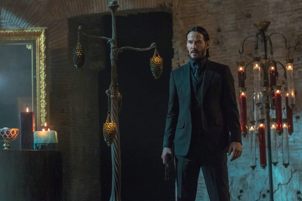 John Wick (Keanu Reeves), gut gekleidet, aber tödlich