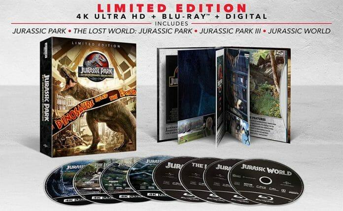 Universal hat eine Jurassic Park 4K-Collection zum 25-jährigen Jubiläum angekündigt. Ein Deutschland-Release wurde noch nicht bestätigt