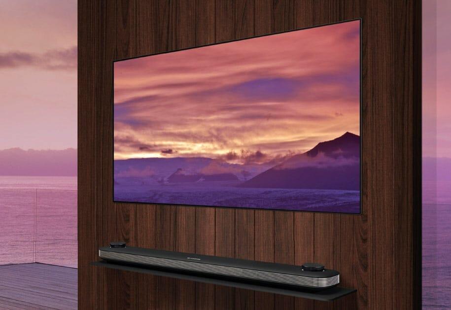 lg oled tvs 2018 mit alpha 9 prozessor und hfr lg. Black Bedroom Furniture Sets. Home Design Ideas