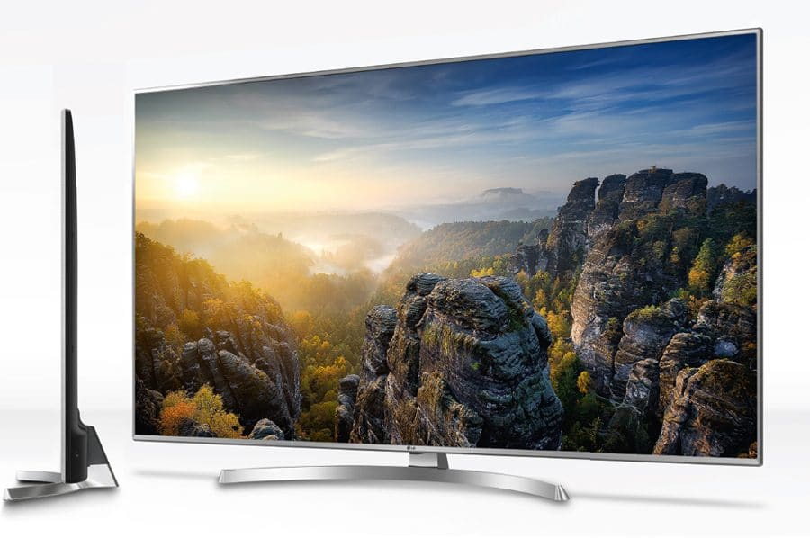 lg uhd tvs 2018 mit webos 4 0 erh tlich von 43 bis 86 zoll lg roadshow 4k filme. Black Bedroom Furniture Sets. Home Design Ideas