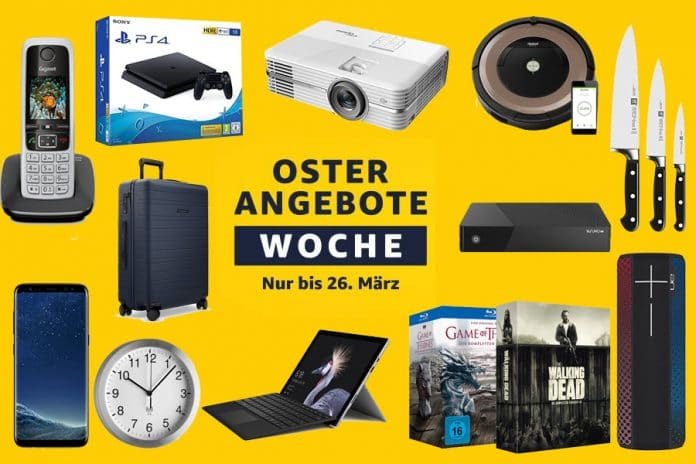 Oster-Angebote mit Technik & Heimkino-Highlights
