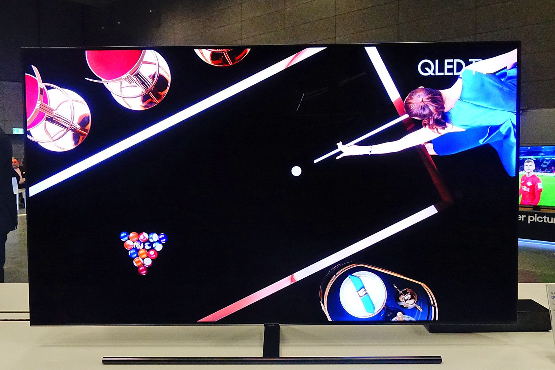 Samsung Q9fn 2018 Qled Tv Mit Direktem Led Backlight Update 4k Das Direkte Verbessert Den Kontrast Und Schwarzwert Deutlich