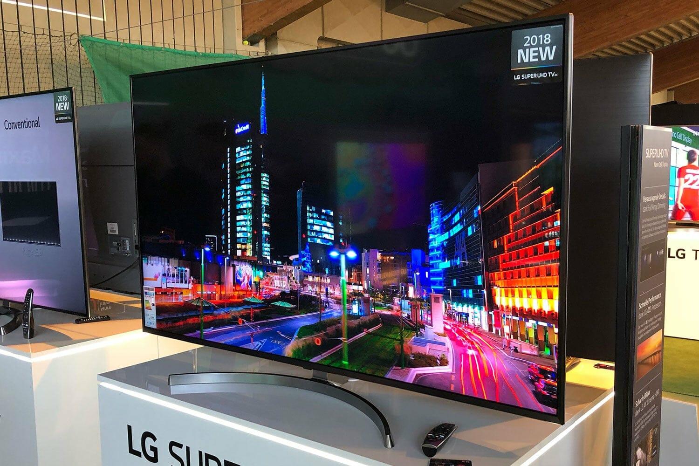 LG Super UHD TVs mit Alpha 7 Prozessor und Full-Array-Local