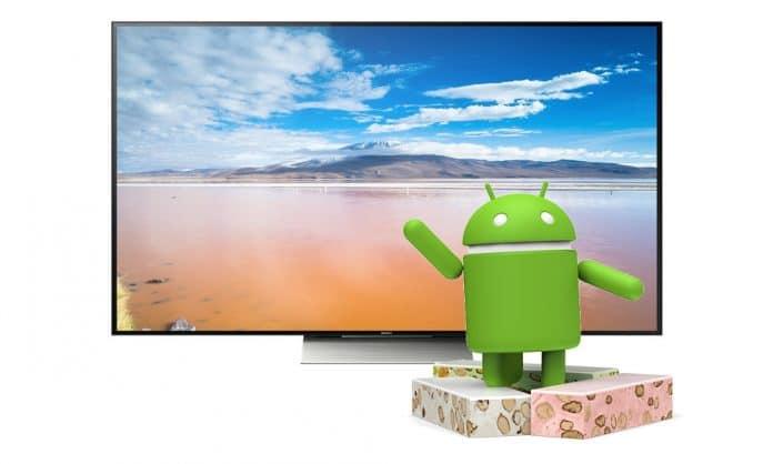 Sony verteilt endlich das Android TV 7 Nougat Update für 4K Fernseher aus 2015 und 2016