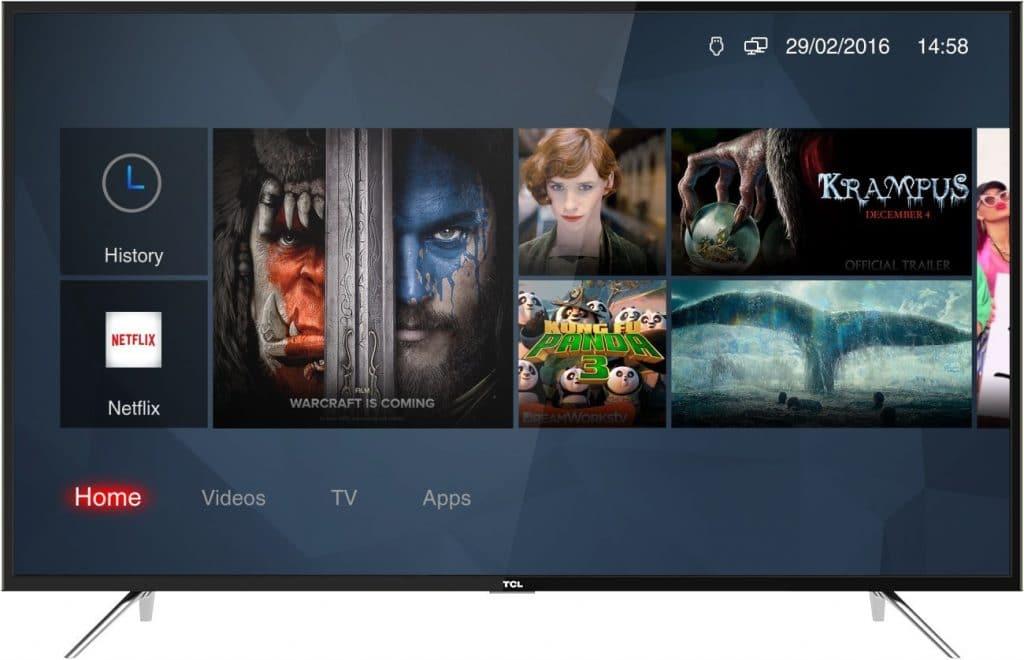 """TCL verbessert kontinuierlich die hauseigene Benutzeroberfläche und ist bereits bei der Version """"Smart TV 3.0"""" angelangt"""