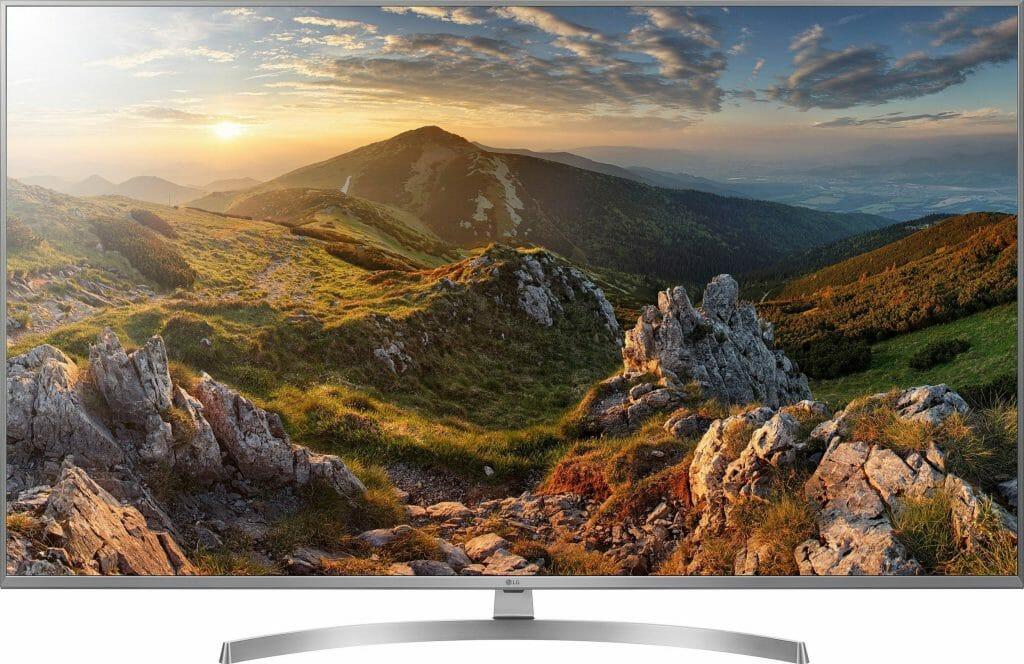 Die UK7550 Geräte nutzen als einzige UHD TV Serie ein Panel mit Nano Cell