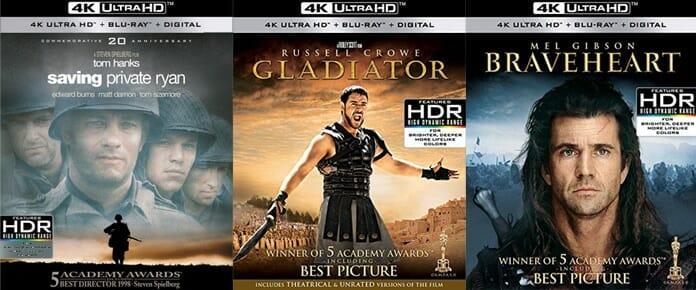 In den USA können viele überarbeitete Filmklassiker bereits als 4K Blu-ray vorbestellen