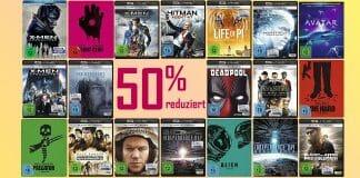 Ausgewählte 4K Filme, Serien, Box-Sets, Steelbooks uvm. sind um 50% reduziert