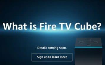 """Die Ankündigung des """"Amazon Fire TV Cube"""" scheint kurz bevorzustehen."""
