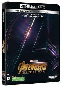"""Amazon.fr listet bereits die 4K Blu-ray von """"Avengers: Infinity War"""" für den 31. August"""