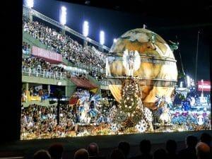 "Das ""Carnival in Rio"" Video in 8K Auflösung mit 120p lief perfekt auf Sonys Crystal-Micro-LED-Display / Bildquelle: www.displaydaily.com"